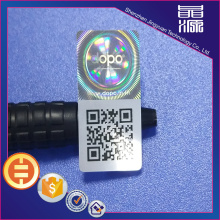 3D QR Code Anti-fake Hologram Label