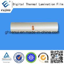 Película de laminación térmica de Super Bonding para impresión digital (35mic Matt)