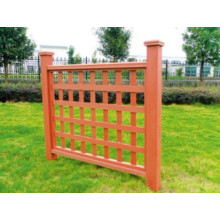 1200 * 1120 Eco-Friendly Cheap Outdoor WPC Fence