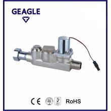 Bi-stable brass solenoid valve-180 dgree F03A