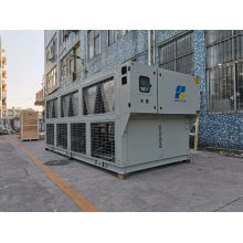 Screw Type Chiller 370kw@-10c Low Temp Chiller Air Cooled Glycol Chiller