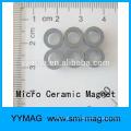Хороший миниатюрный крошечный микро круглый магнит с отверстием
