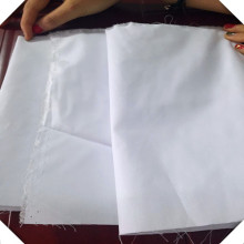 Polyester Cotton Mixed Woven White Fabric