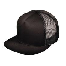 Casquettes noires en velours côtelé personnalisé Snapback