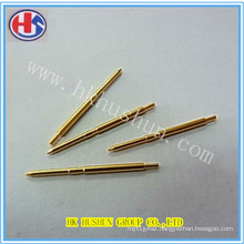 Factory Direct Sale Electrical Plug Brass Pin (HS-BS-0037)