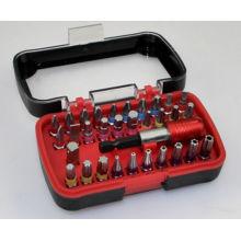 32PC Farbcodierte Schraubendreher-Bits Set in Box