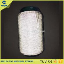 hilo reflectante / hilo de algodón mercerizado reflectante