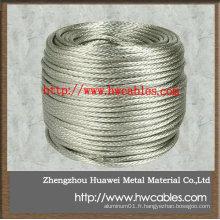 Fil de cuivre étamé à l'étain net fabriqué en Chine
