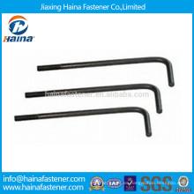 Proveedores de China Grade4.8 HDG L Tipo Foundation Bolt