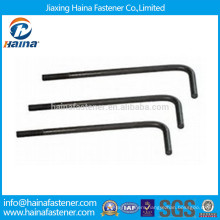 China Suppliers Grade4.8 HDG L Type Foundation Bolt