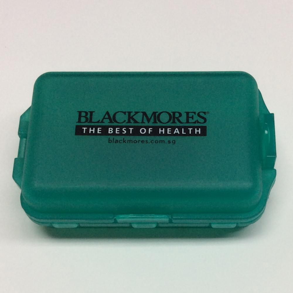 Plastic Portable Sealed Double Layer Pill Case