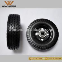6x2 PU mousse roue 6x2 PU mousse pneu pneu libre plat