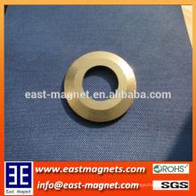Starker leistungsfähiger Neodym-spezieller Ring-Magnet / kundenspezifischer Fabrik geschliffener Ring ndfeb Magnet
