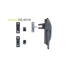 Multi-point lockable handle fork type