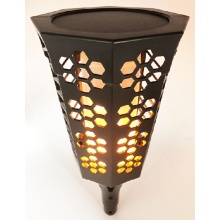 Nueva 72SMD Led Solar Flame Garden Light