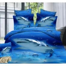 Top Top Verkauf Fabrik Großhandel 3D Siebdruck Bettwäsche