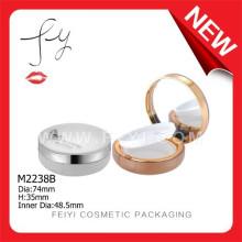 Beautiful With Mirror Clear Plastic Air Cushion Compact Powder Case