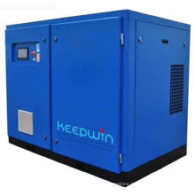 355 KW 480HP 2400 cfm double stage air compressor China Manufacture VSD Two Stage Screw Compressor