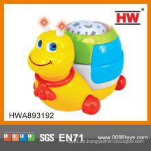Juguete plástico del caracol del bebé de la alta calidad