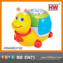 High Quality Baby's Musical Plastic Snail Toy
