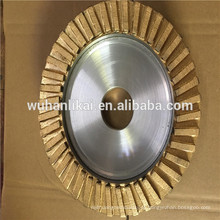 preço de fábrica e roda de perfil de diamante de moedura rápida para pastilha de freio