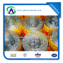 China Manufacturer Wholesale Cheap Barbed Wire, Barbed Wire Price Per Roll, Low Price Barbed Wire Roll Fence
