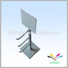 Exhibidor elegante de la encimera del alambre del metal del diseño