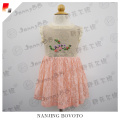 New Design Hand Embroidered Kids Dress