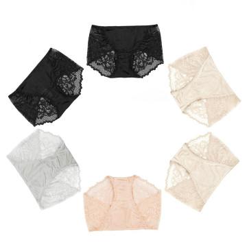 Sexy Lace Panty for Women Silk Seamless Underwear