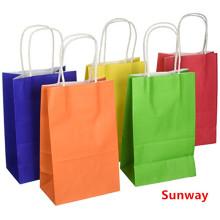 Einkaufstaschen aus recyceltem Kraftpapier