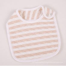 Organic Cotton Striped Baby Bib