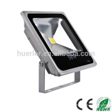 Luz de inundación impermeable vendedora caliente de la alta calidad 100-240v 85-265v ip66 50w luz de inundación llevada delgada 50w