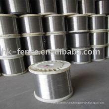 alambre de acero inoxidable / alambre SS / 304 alambre