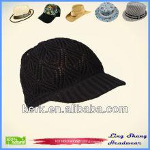 LSC54 Ningbo Lingshang High Quality Winter 100% Cotton ladies hats