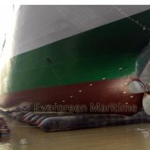 Balão de lançamento marítimo de borracha marinha amplamente utilizado no estaleiro em suprimentos marítimos