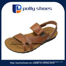 Удобные летние женские кожаные сандалии для мужчин