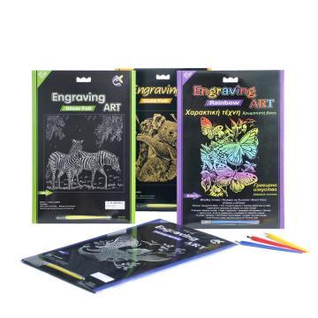 Популярные профессиональные гравировки искусства наборы скретч-карты