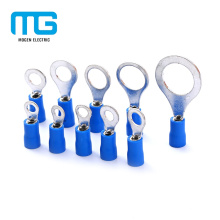Hot Sale Multi Size Tinned Insulated Copper Circle Terminals