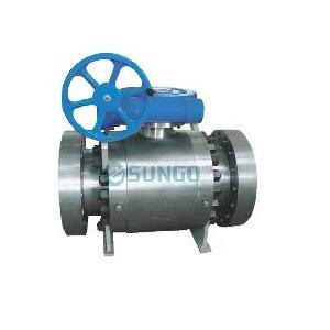 Injap bola trunnion