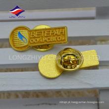 Pino de ouro de granel personalizado a granel com logotipo