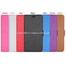 Funda de cuero estilo teléfono móvil para Samsung Galaxy S6