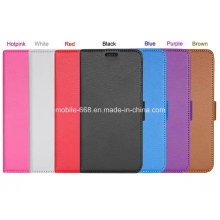 Mobile Phone Book Style Leather Case for Samsung Galaxy S6