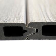 Customized Anti-UV Slip Resistant Backyard WPC Wood Composite Fencing