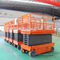 6m -12m selbstfahrende mobile elektrische Scherenhebebühne / hydraulische mobile Scherenhebebühne