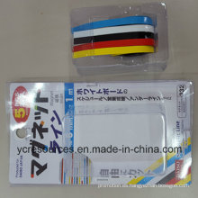 Banda magnética de goma de color, paquete de 5 (OI42001)