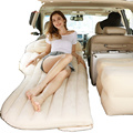 Car Inflatable Travel Air Mattress Bed Back Seat Sleep Pad Premium Quality Portable Car Mattress with 2 Pillows Universal fit
