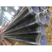 3PE anti corrosion seamless steel pipe