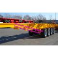 3 Axles Container Transport 40FT Skeleton trailer