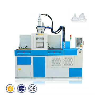 Machine de moulage par injection de plastique de gel de silice liquide LSR