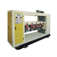 Online lifting type thin blade slitter scorer machine PLC corrugated cardboard production line